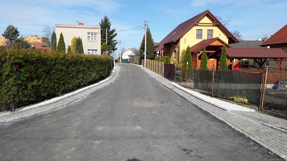 Rekonstrukce ulice Cihelní